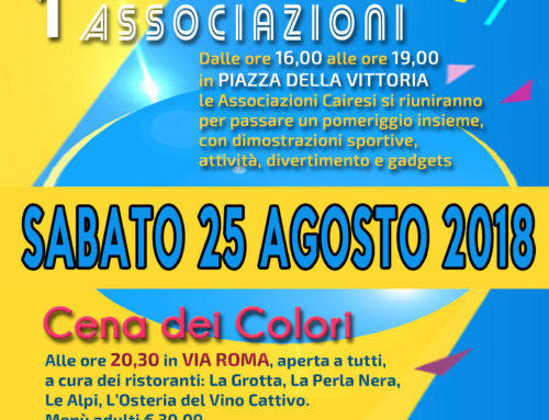 1^ Festa Solidale delle Associazioni
